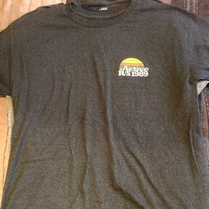 Dark grey active ride shop logo T-shirt